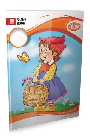 Atlas Book Practical Blank (80 Pages) - හිස් පිටු සහිත වැඩ පොත (පිටු 80)