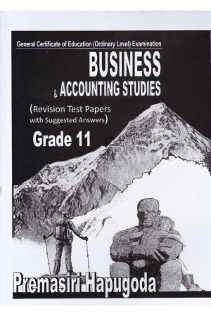 Business & Accounting Studies - Revision Test Papers - Grade 11