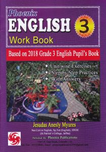 English work book grade 3