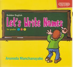 Let's Write Names for grades 1,2,3