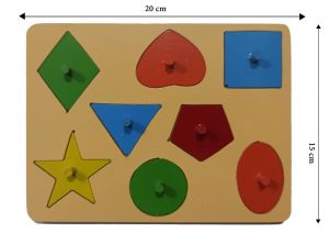 Eight Shapes-puzzle - 08 pieces
