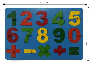 Numbers Set-puzzle - 10 pieces