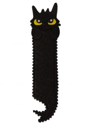 Dragon Bookmark (Black)