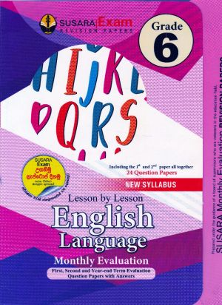 Grade 6 English Language Monthly Evaluation