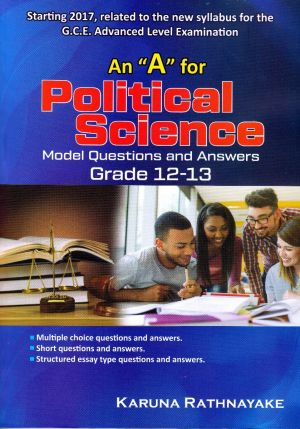 """An""""A"""" for Political Science Model Question and Answers Grade 12-13"""